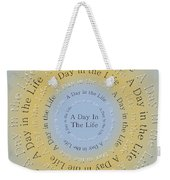A Day In The Life 3 Weekender Tote Bag