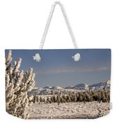 A Day Of Winter Weekender Tote Bag