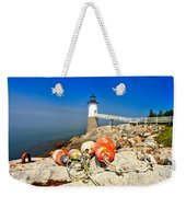 A Day Off Weekender Tote Bag by Adam Jewell