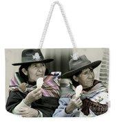 A Day Off In Tarabuco- Bolivia Weekender Tote Bag