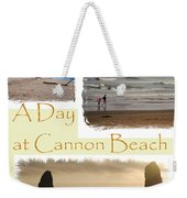 A Day On Cannon Beach Weekender Tote Bag
