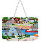A Day With Dad Weekender Tote Bag