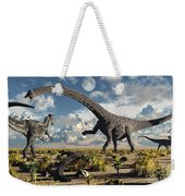 A Deadly Confrontation Weekender Tote Bag