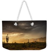 A Desert Monsoon Sunset  Weekender Tote Bag