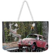 A Difference Sleigh  Weekender Tote Bag