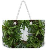 A Different Christmas Wreath Weekender Tote Bag