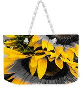 A Different Kind Of Sunflower Weekender Tote Bag