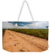 A Dirt Road In The Plains Weekender Tote Bag