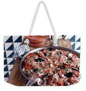 A Dish Of Paella Weekender Tote Bag