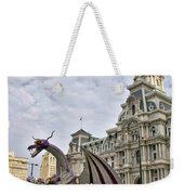 A Dragon In Philly Weekender Tote Bag