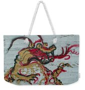 A Dragon On My Wall Weekender Tote Bag