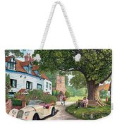 A Drive Out Weekender Tote Bag