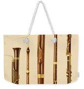 A Dulcian, An Oboe, A Bassoon Weekender Tote Bag