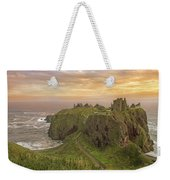 A Dunnottar Castle Sunrise - Scotland - Landscape Weekender Tote Bag