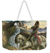 A Fairy And A Knight Weekender Tote Bag