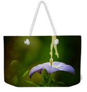 A Fairy In The Garden Weekender Tote Bag by Rebecca Sherman