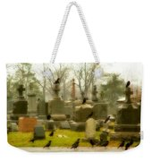 A Fall Gathering Of Crows Weekender Tote Bag