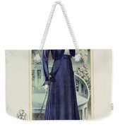 A Fashionable French Lady Weekender Tote Bag