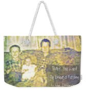 A Father To The Fatherless Weekender Tote Bag