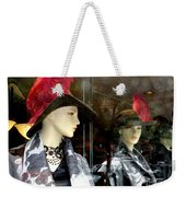 A Feather In Her Hat Weekender Tote Bag