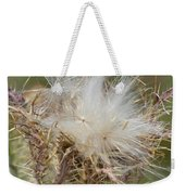 A Feather's Weight In Gold Weekender Tote Bag
