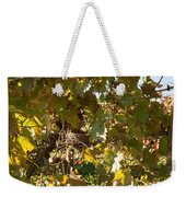 A Few Grapes Left For The Birds Weekender Tote Bag