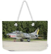 A Fiat G-91 Fighter Plane Of The German Weekender Tote Bag