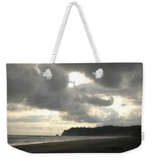 A Figure Strolls Along The Beach, Playa Weekender Tote Bag