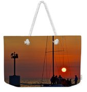 A Fine Days End Weekender Tote Bag
