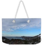 A Fine January Day On The Bay Weekender Tote Bag