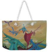 A Flight Of Dragons Weekender Tote Bag