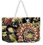 A Floral View Weekender Tote Bag