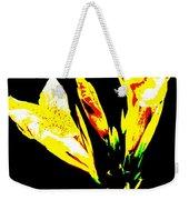 A Flower Weekender Tote Bag