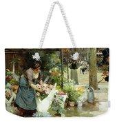 A Flower Market In Paris Weekender Tote Bag