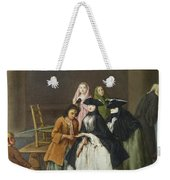 A Fortune Teller At Venice Weekender Tote Bag