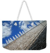 A Fountain Through A Window Weekender Tote Bag