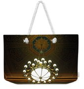 A Franklin Chandelier Weekender Tote Bag