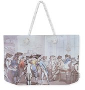 A French Coffee House Weekender Tote Bag