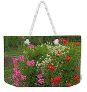 A French Country Church Weekender Tote Bag