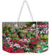 A French Flower Market Weekender Tote Bag
