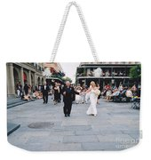 A French Quarter Wedding Weekender Tote Bag