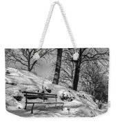 A Frigid Moment Weekender Tote Bag