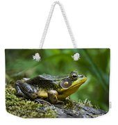 A Frog Is Forever Weekender Tote Bag