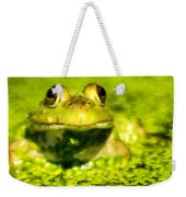 A Frogs Day Weekender Tote Bag