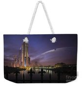 A Futuristic City On An Weekender Tote Bag