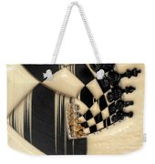 A Game Of Chess Weekender Tote Bag by Liane Wright