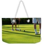 A Game Of Croquet Weekender Tote Bag