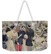 A Garden Party At The Elysee Weekender Tote Bag