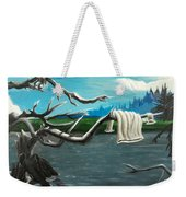 Aura On The Lake Weekender Tote Bag