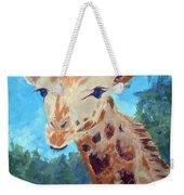 A Giraffe For Ori Weekender Tote Bag